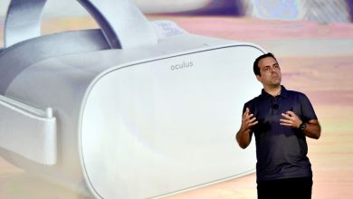 Oculus Go مع رئيس أوكولوس