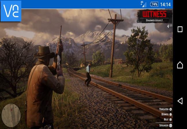 لعب Red Dead Redemption 2 على أندرويد وآيفون 3
