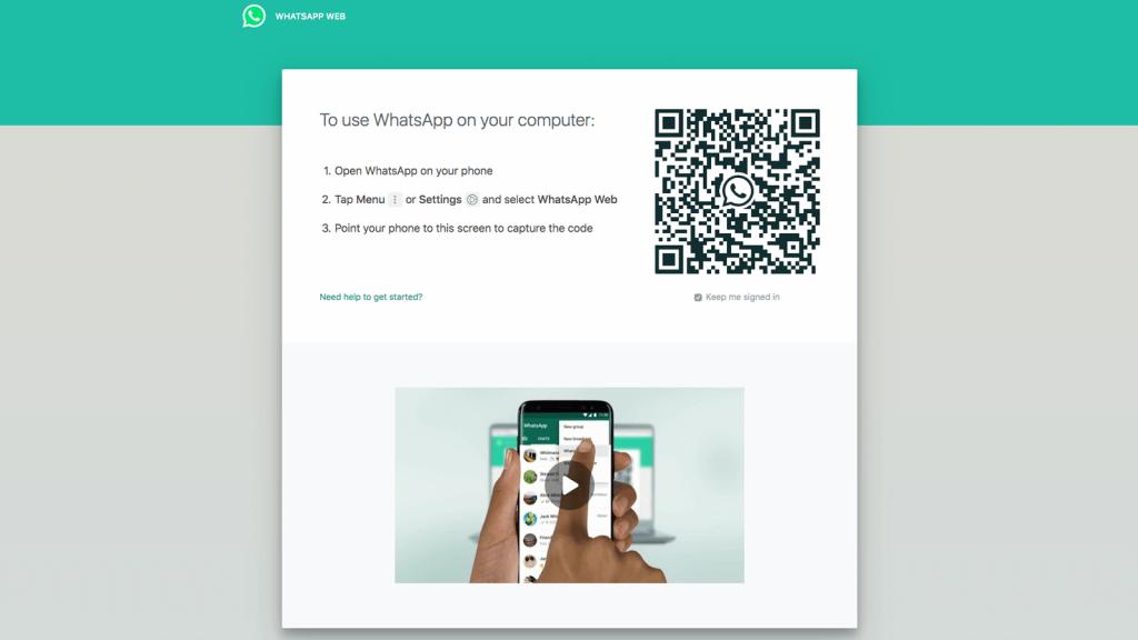 تفعيل واتس ويب باستخدام QR Code