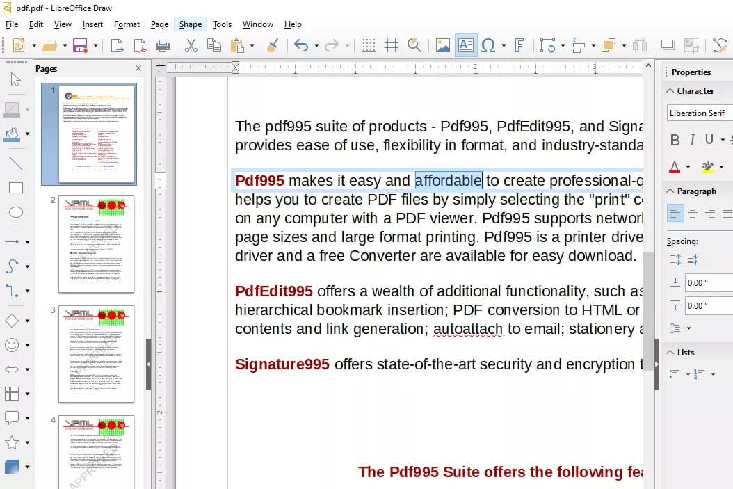 8 من أفضل برامج تحرير PDF المجانية 3