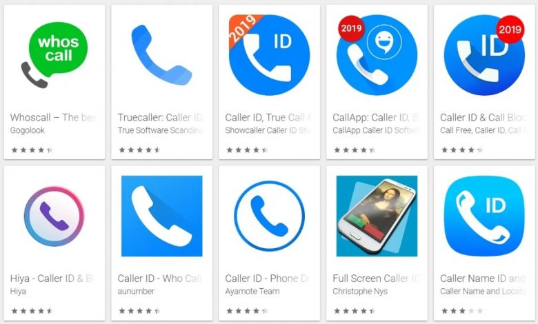 تطبيقات معرفة اسم المتصل ومكانه