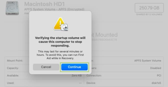كيفية إصلاح القرص على الماك (macOS Disk) 4