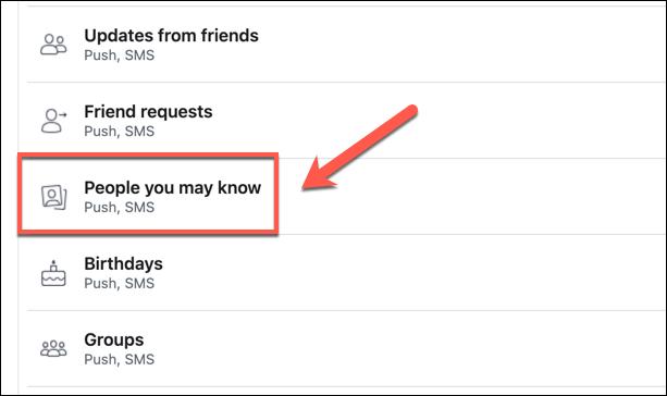إيقاف خاصية اقتراحات الأصدقاء على فيسبوك 3