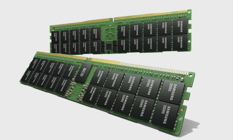 سامسونج تطور رام سعة 512 جيجابايت من نوع DDR5