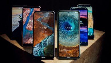 نوكيا تعلن عن 6 موبايلات جديدة في 2021 تعمل بنظام اندرويد