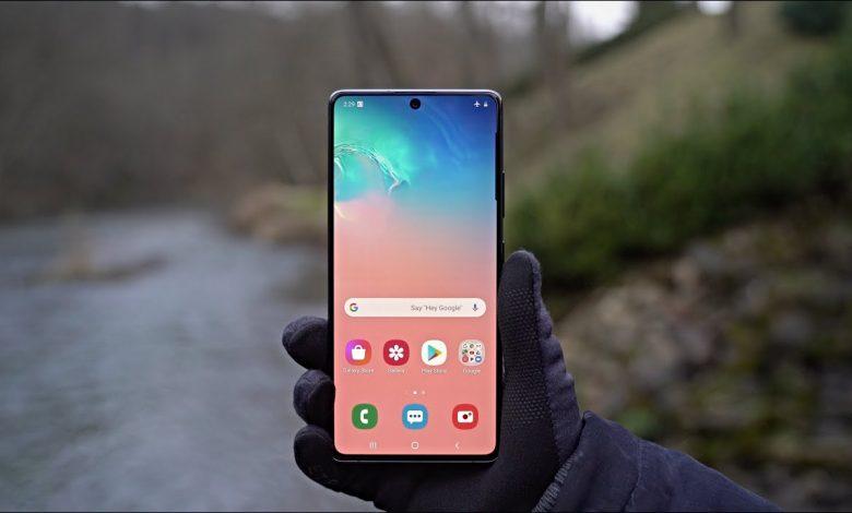 سامسونج Galaxy S10 Lite يحصل على تحديث أمني جديد