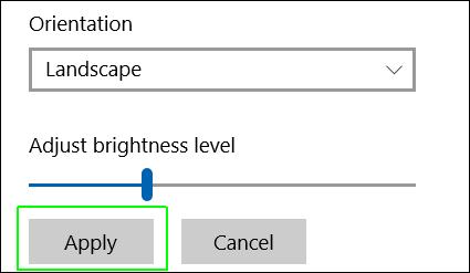 كيفية تدوير الشاشة في ويندوز 10 3