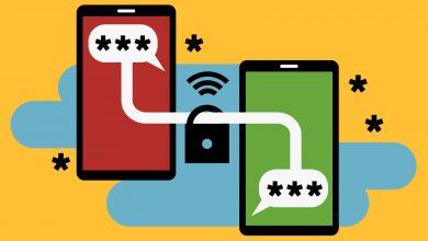 تطبيق رسائل اندرويد يدعم تشفير الند للند