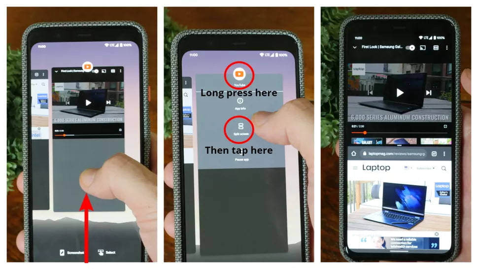 شرح تقسيم الشاشة (Split-Screen) على اندرويد 1