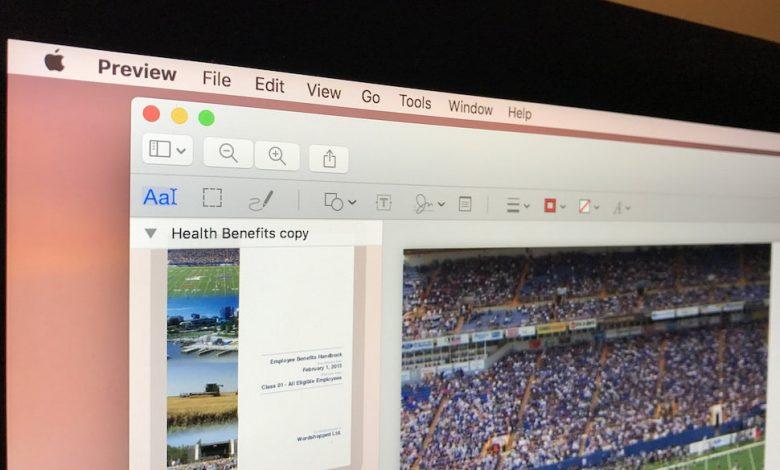 كيفية تغيير حجم الصور واقتصاصها باستخدام Preview على الماك