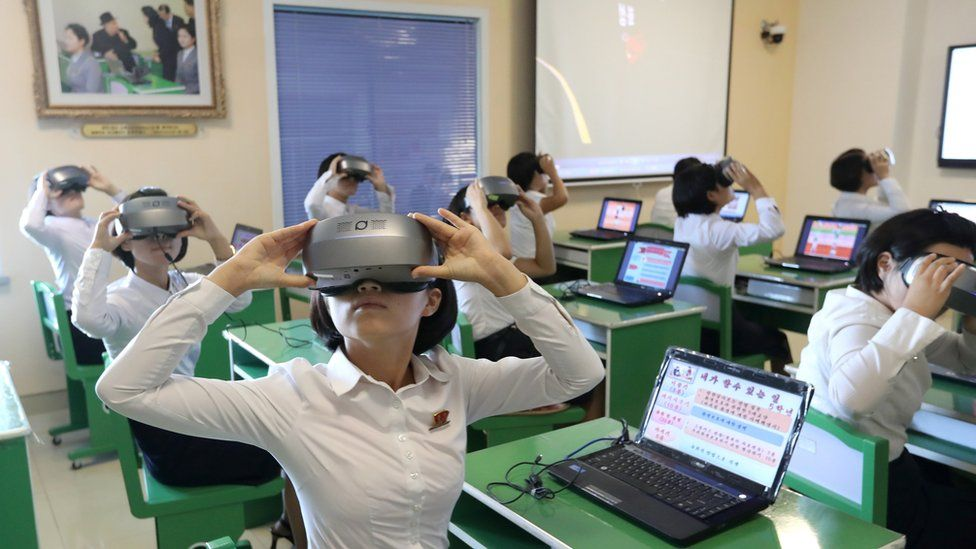 كوريا الشمالية تستخدم الواقع الافتراضي والواقع المعزز في الدراسة! 1