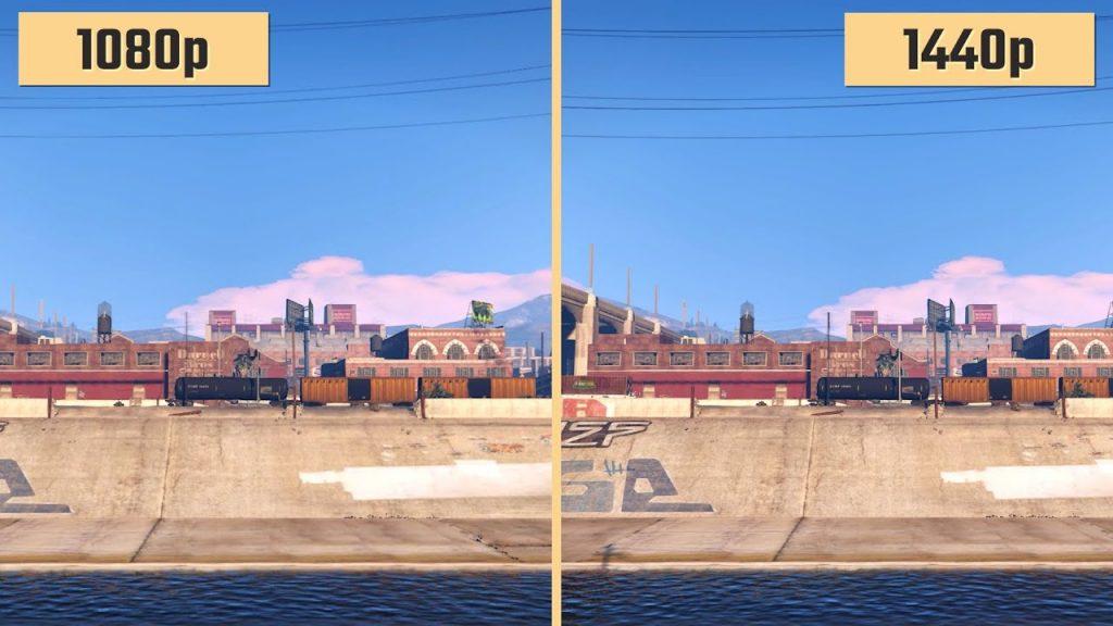 مقارنة شاشات 1440 و 1080 للاستخدام في الألعاب والمكتب