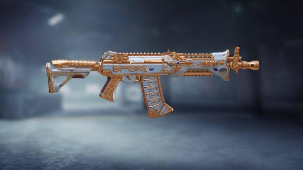 AK117 - أفضل أسلحة COD Mobile