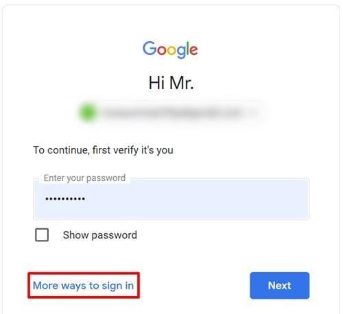 طريقة تغيير كلمة سر جيميل على الكمبيوتر والموبايل 7