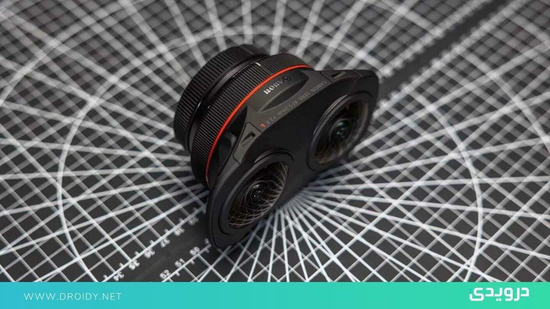كانون تُطلق عدسة EOS R عين سمكة لإنشاء محتوى الواقع الافتراضي