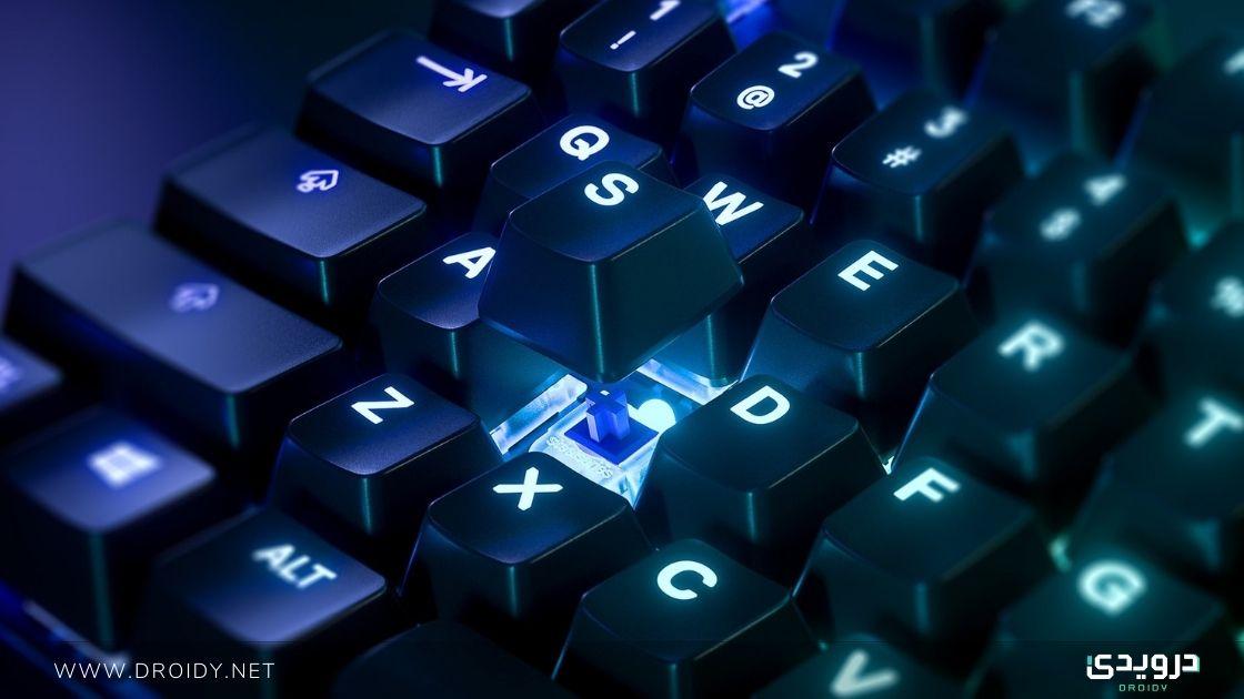 هل لوحات المفاتيح الميكانيكية مع السويتش الأزرق هي أفضل خيار للألعاب؟